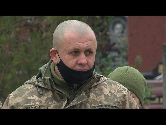 У Чернівцях на Центральному кладовищі освятили пам'ятника  Герою ООС Віталію Онофрейчуку