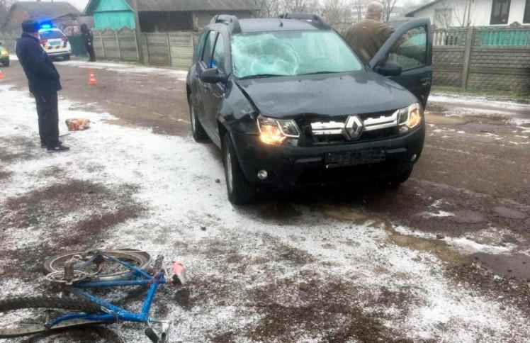 На Буковині внаслідок ДТП загинув велосипедист