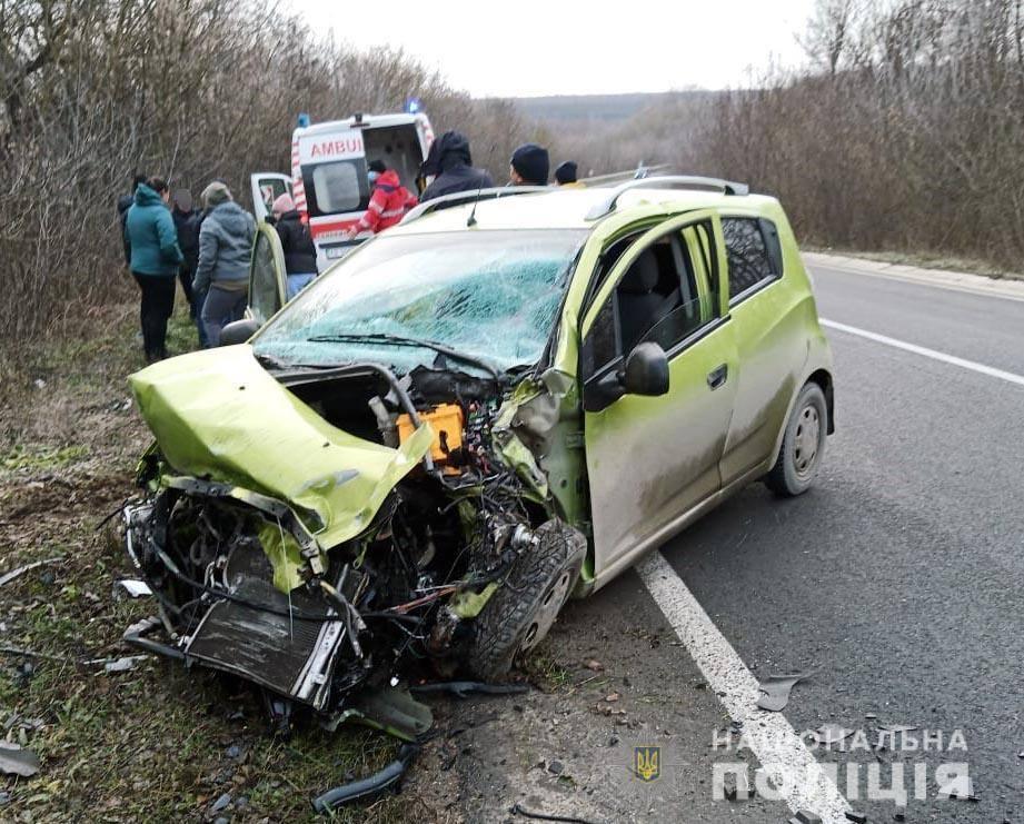 На Хотинщині в ДТП постраждали четверо осіб