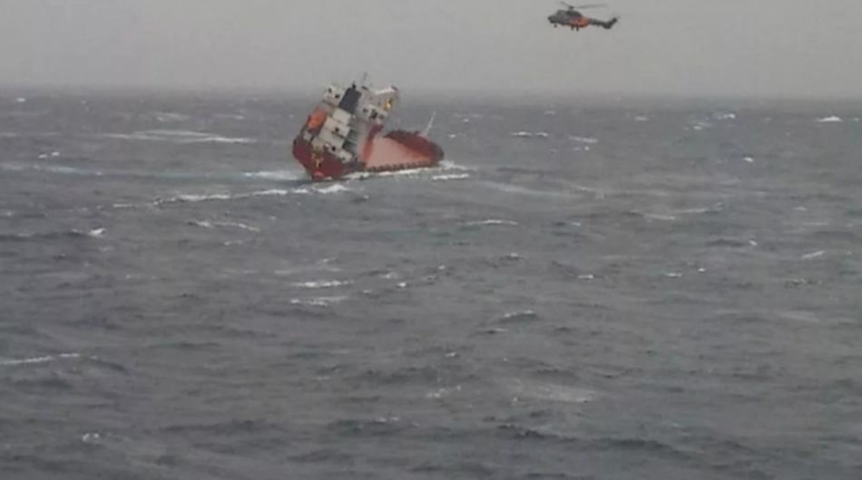 У Чорному морі затонув російський корабель