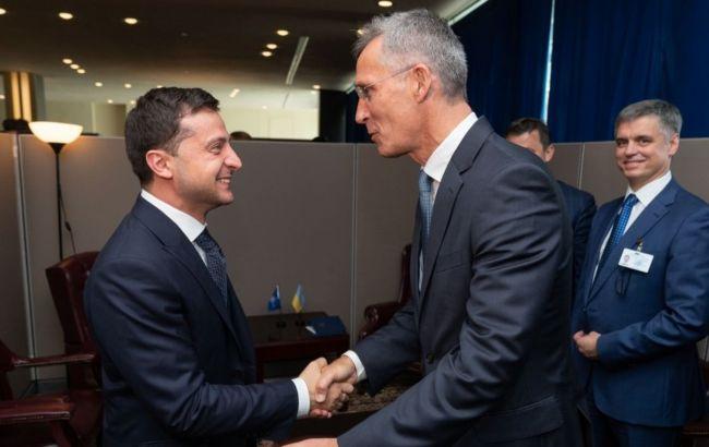 Найближчою метою України є план дій щодо членства в НАТО – Зеленський