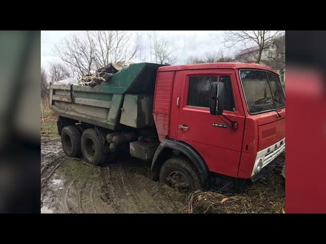 Водія вантажівки, який вивозив будівельне сміття на схил берегової смуги річки Прут, оштрафували