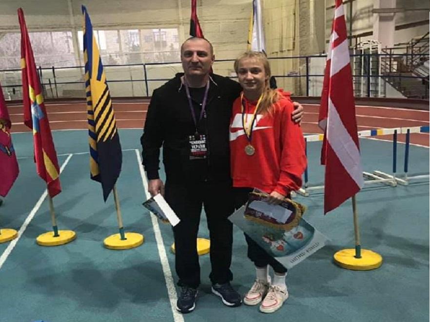 Буковинська борчиня Соломія Винник здобула золото на чемпіонаті Європи серед юніорів