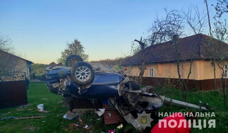 У Вижницькому районі трапилась ДТП: водій загинув