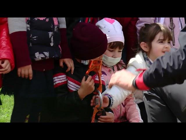Користуватися вогнегасниками та надавати першу медичну допомогу навчали школярів Мигівського НВК