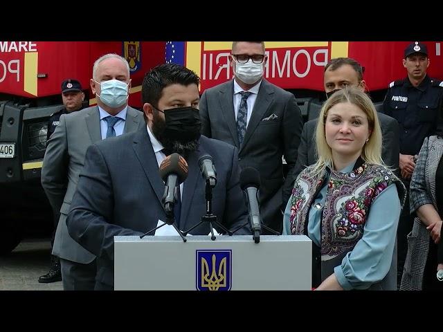 40 тонн гуманітарної допомоги на понад 1 млн євро Румунія передала Буковині