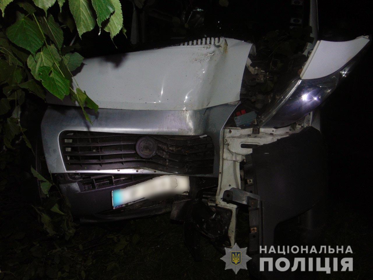 ДТП під Чернівцями: травмувалися двоє пасажирів