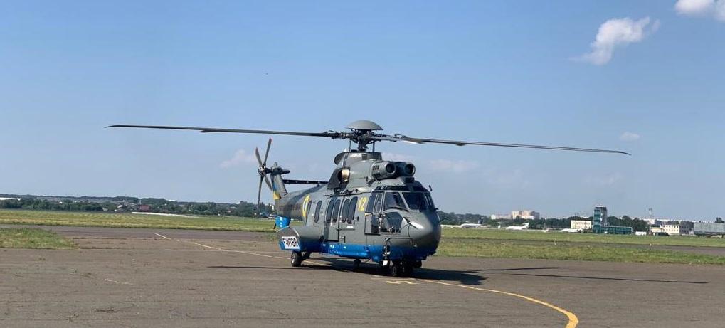 Нацгвардія поповнилася ще одним гелікоптером Airbus для бойових завдань