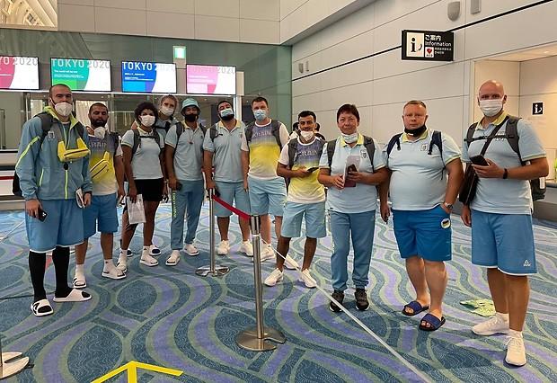 Олімпійці України прибули до Токіо
