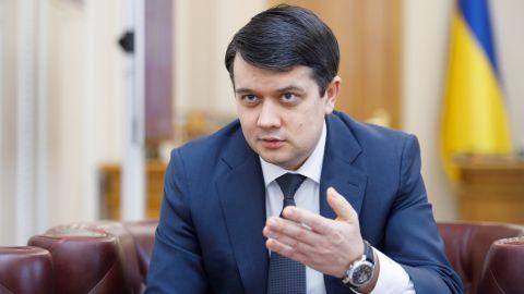 Разумков скликає позачергове засідання Ради на 20 липня