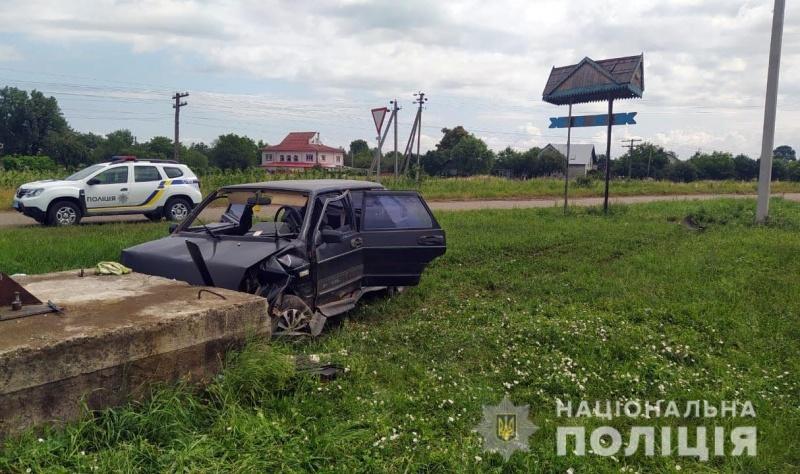 На Буковині за добу правоохоронці задокументували другу ДТП з потерпілими