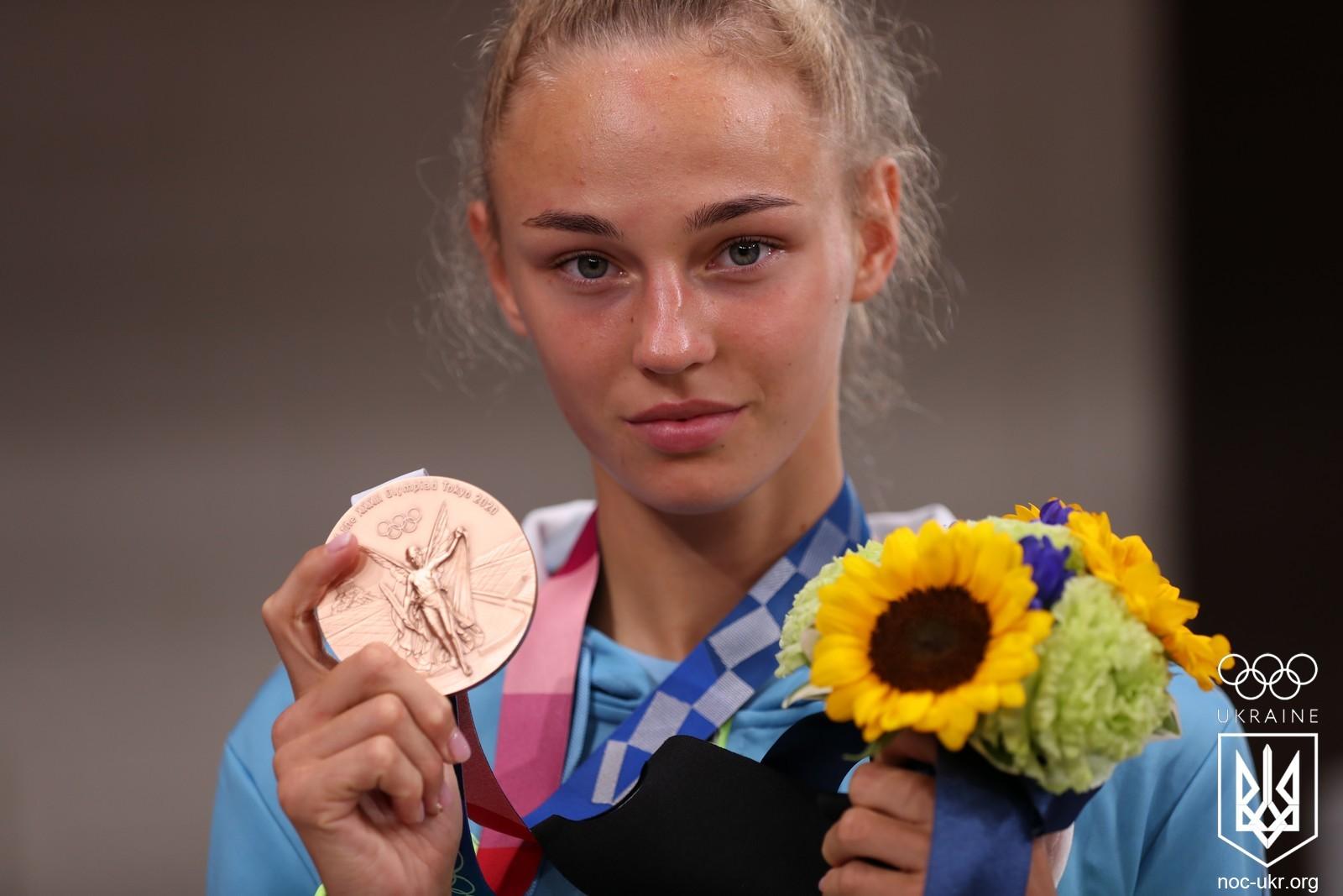 Українка Білодід здобула першу медаль на Олімпіаді у Токіо