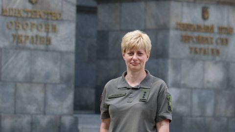 Міноборони: призначено першу жінку-командувача у ЗСУ
