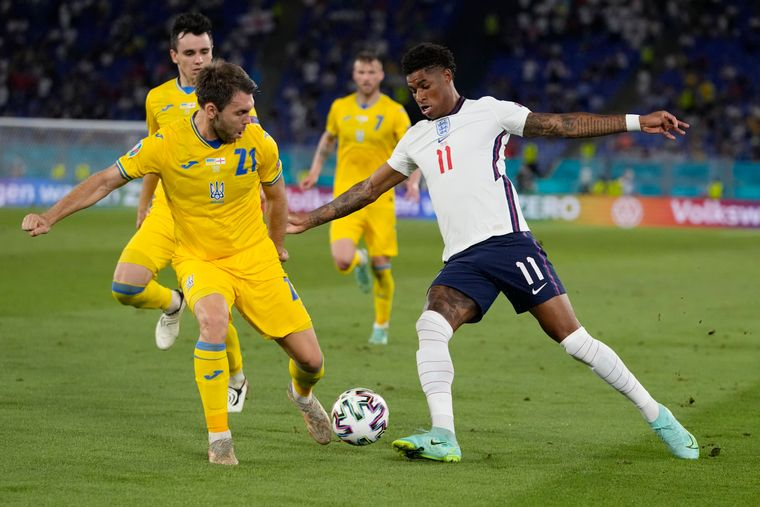 Україна програла Англії і припинила боротьбу в Євро-2020